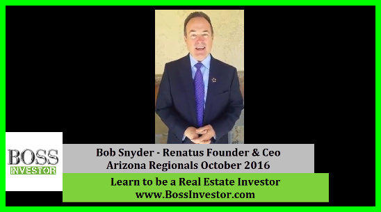 Renatus CEO Bob Snyder Talks About The Power of Real Estate Education