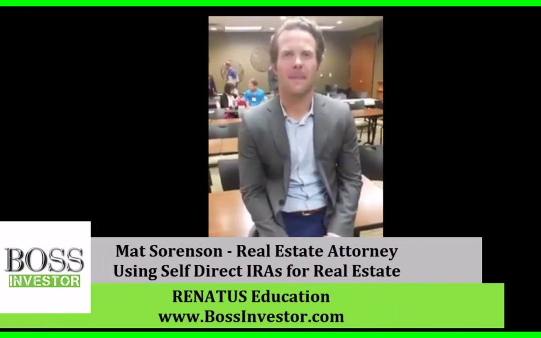 Live with Mat Sorensen Author of The Self-Directed IRA Handbook
